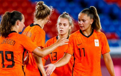 Oranje Leeuwinnen met krankzinnige doelcijfers naar kwartfinale Olympische Spelen