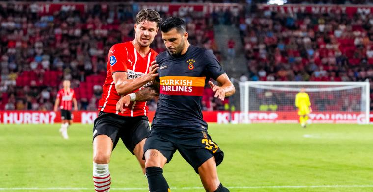 PSV krijgt straf opgelegd voor wangedrag op tribune tijdens duel met Galatasaray