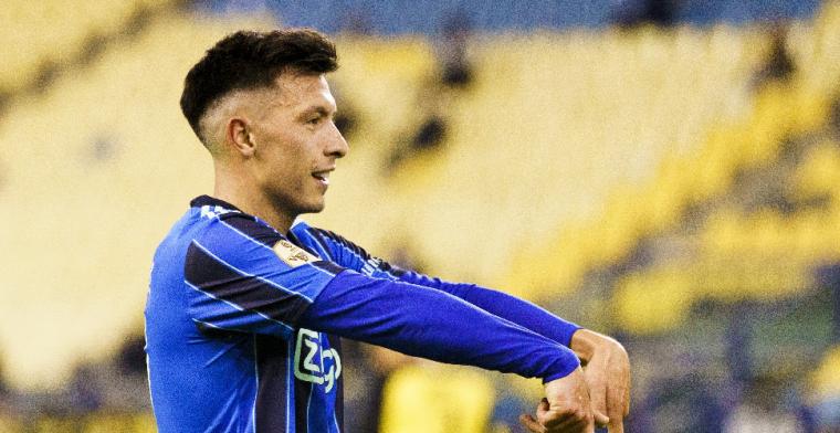 Overmars wil Martínez belonen bij Ajax: Meerdere gesprekken geweest