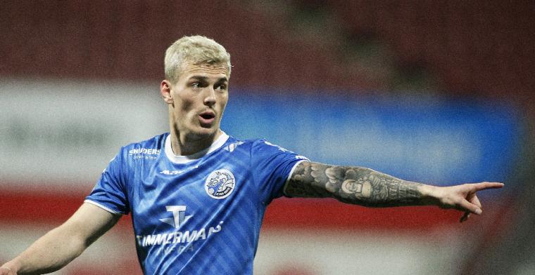 FC Den Bosch-topscorer Hornkamp wil stap hogerop: spits kan naar Italië
