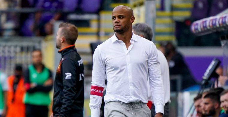'Kompany zal wijzigingen doorvoeren in basiself Anderlecht na verlies tegen Union'