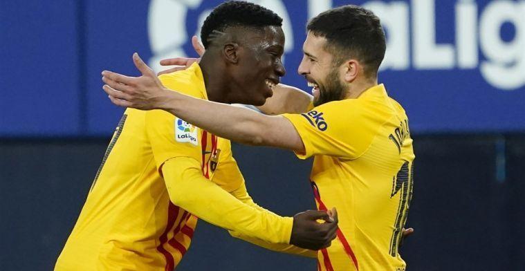 Veelbesproken Barça-talent Moriba deelt online haatberichten: 'Serieus?'