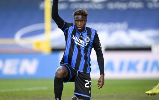 'Club Brugge zoekt oplossing voor Badji en wil aanvaller uitlenen aan JPL-club'