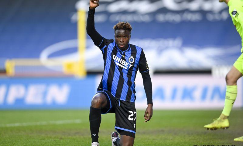 Afbeelding: 'Club Brugge zoekt oplossing voor Badji en wil aanvaller uitlenen aan JPL-club'