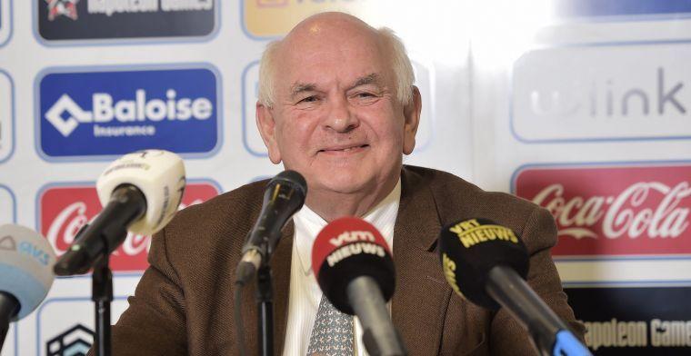 """De Witte over BeNeLeague: """"In zijn huidige vorm schat ik kansen vrij laag in"""""""