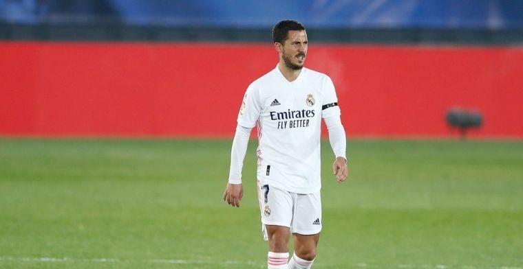 Hazard oogt opvallend scherp tijdens medische testen bij Real Madrid