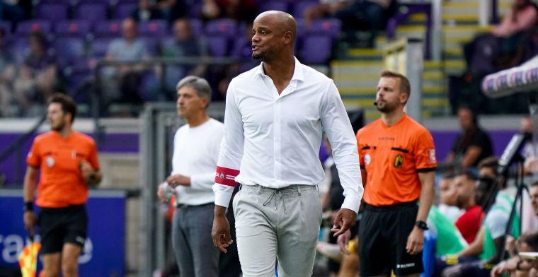 'Anderlecht en Kompany pasten voor aanvallers Mbokani, Frey, Bruno, Boli en Henry'