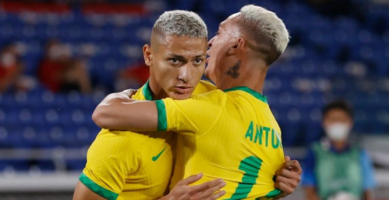 Ajax is Antony langer kwijt door Olympische doelpuntenlawine Richarlison