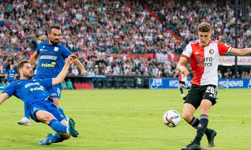 Afbeelding: LIVE: Til Feyenoords reddende engel na zenuwslopende avond tegen Drita (gesloten)