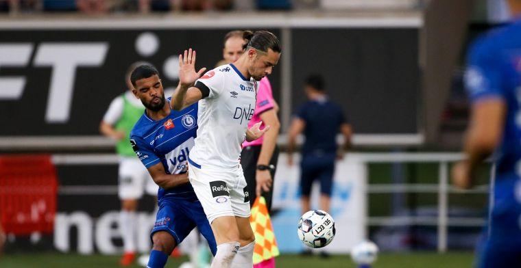 KAA Gent verliest, maar stoot wel door in de Conference League