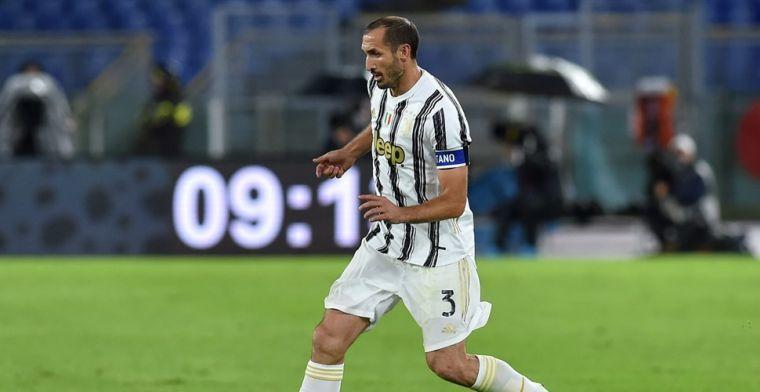 'Transfervrije' Chiellini (36) blijft waar hij is: 'Extra motivatie voor mij'