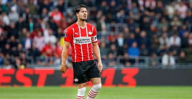 Vlaar geraakt door 'belangrijke speler' van PSV: 'Eerlijk, het doet wat met me'