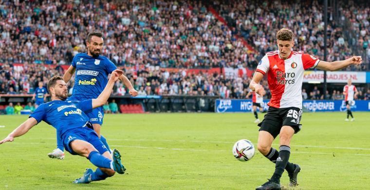 LIVE: Til Feyenoords reddende engel na zenuwslopende avond tegen Drita (gesloten)