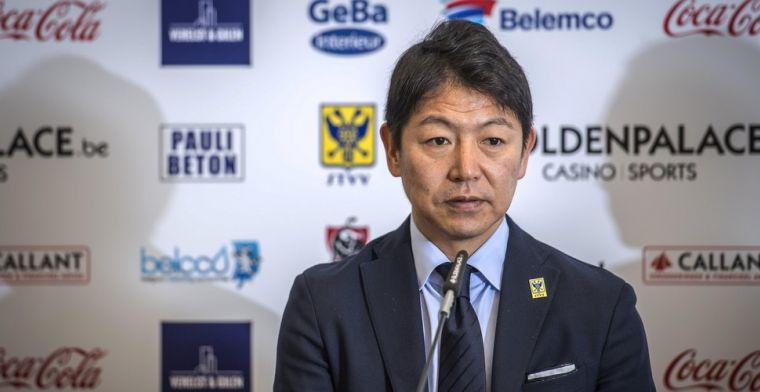 Supporters morren, STVV-CEO Tateishi reageert na kritiek op uitblijven transfers