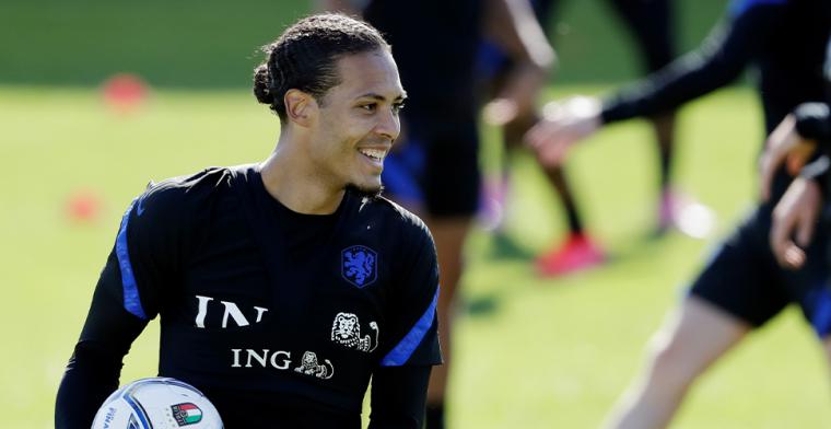 Van Dijk kan na 285 dagen weer lachen: Oranje-captain maakt rentree