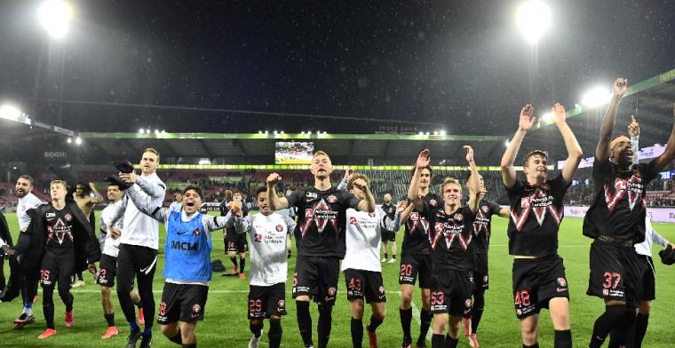 We spelen nu een wedstrijd in de competitie en dan kijken we naar PSV