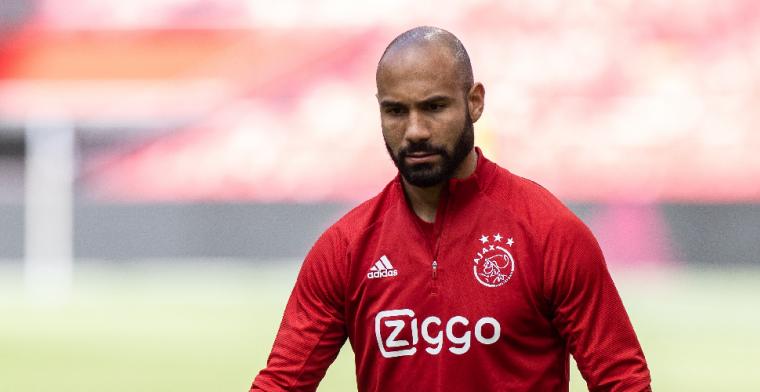 Klaiber verlaat trainingskamp Ajax, vrees voor zware blessure