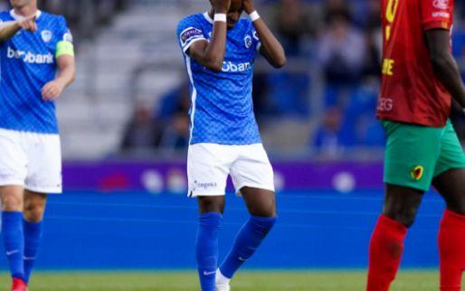 KRC Genk verliest doelpuntrijke wedstrijd van KV Oostende