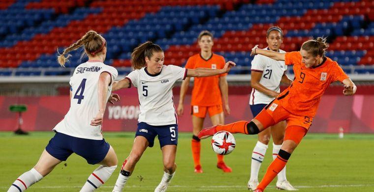 Olympische droom voorbij: Leeuwinnen verliezen na strafschoppen van Amerika