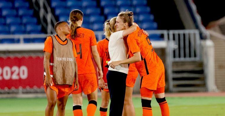 Wiegman neemt afscheid na penaltydrama: 'We hadden er nog op geoefend'