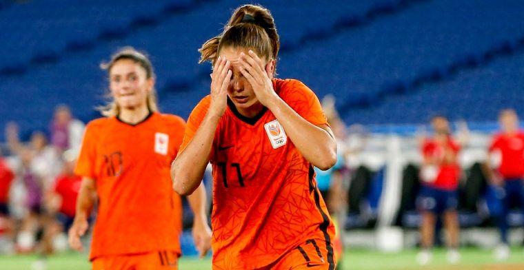 Martens in tranen na Olympische uitschakeling: 'Neem het mezelf erg kwalijk'