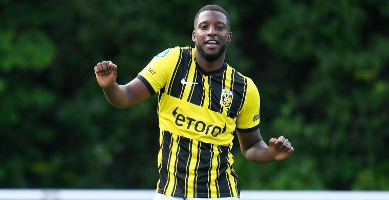 'Ik durf niet te zeggen hoelang ik nog bij Vitesse speel, ik heb een transferwens'