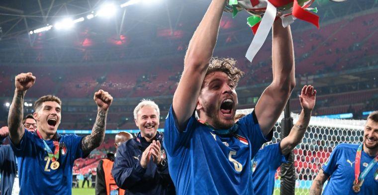 Aanbiedingen stromen binnen voor Italiaanse EK-openbaring: 'Liefst naar Juventus'