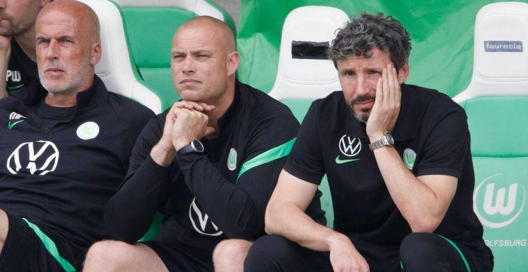 Van Bommel blijft na oefennederlagen koel bij Wolfsburg: 'Zijn op goede weg'