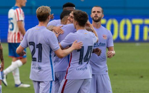 Afbeelding: De Jong en Memphis nemen Barcelona bij de hand en boeken oefenzege bij Stuttgart