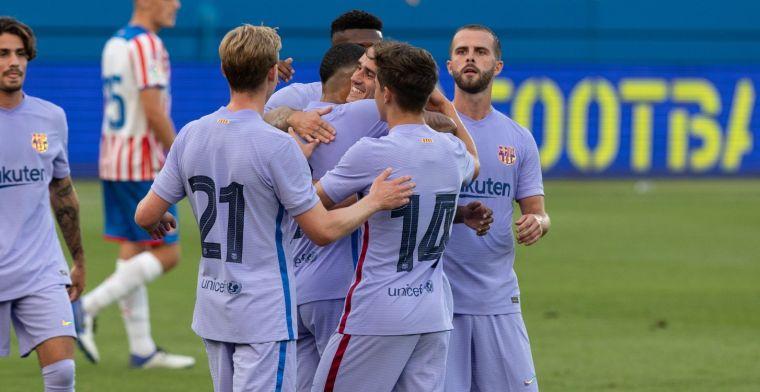 De Jong en Memphis nemen Barcelona bij de hand en boeken oefenzege bij Stuttgart