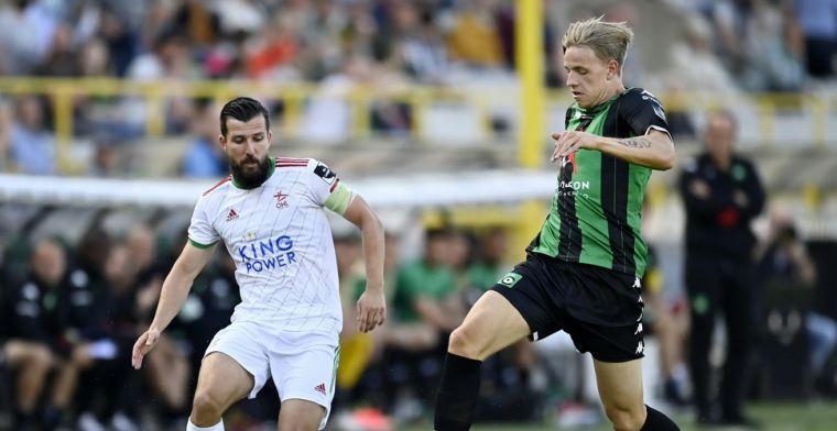 Oud-Heverlee Leuven geeft voorsprong uit handen tegen Cercle Brugge