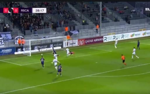 GOAL: De eerste van Raman bij Anderlecht is zijn eenvoudigste treffer ooit