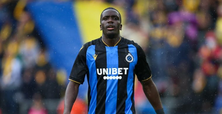 Nsoki maakt zijn debuut voor Club Brugge: Aangenaam verrast