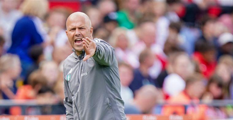 Bemoedigend Feyenoord-debuut van Trauner: 'Doet hij tijdens de trainingen ook'