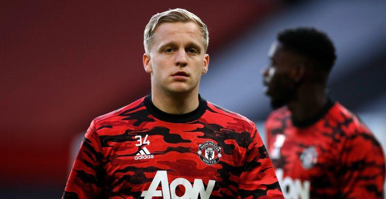 'Van de Beek maakt met transformatie indruk op spelers Manchester United'