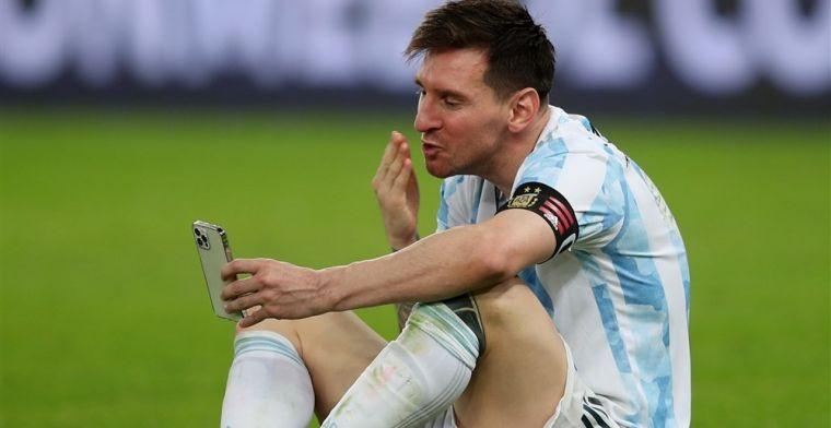 'Messi mist kostbare trainingsuren: geen nieuw contract betekent niet trainen'