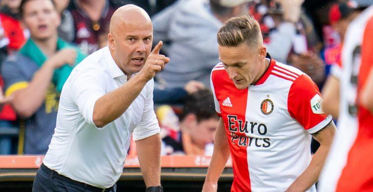 Slot gooit basiself Feyenoord gedeeltelijk om: 'Hij heeft een volledig vrije rol'