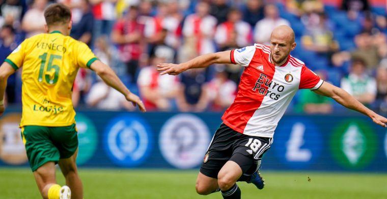 Kersvers Feyenoorder Trauner proefde sfeer tijdens Europese avond: Amazing