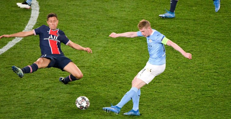 De Bruyne sluit terug aan op het trainingsveld bij Manchester City