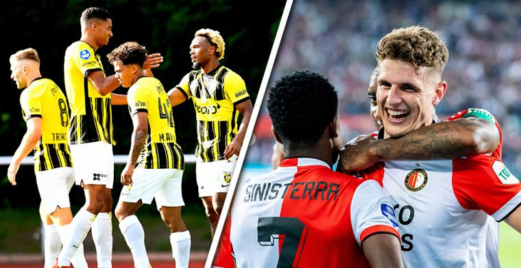 Conference League-loting bekend: duidelijkheid voor Feyenoord en Vitesse