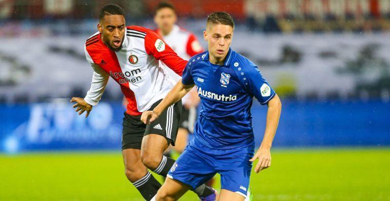 Heerenveen past voor Feyenoord-voorstel: 'Spelersruil geen optie'