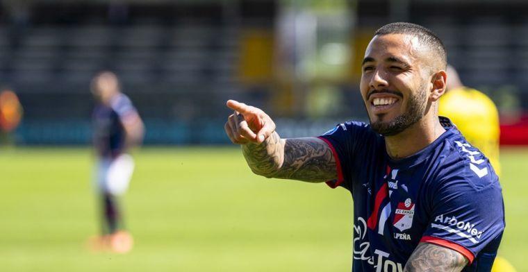 'Peña staat voor transfer naar Zweden, Emmen verdient iets minder dan 1 miljoen'