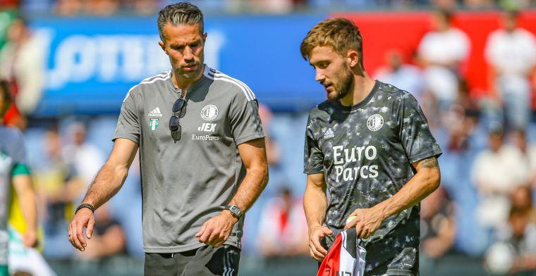 Feyenoord-spits Vente staat nog steeds voor transfer: 'We doen er alles aan'
