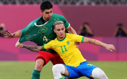 Afbeelding: Brazilië benut alle strafschoppen: Ajax-aanvaller Antony naar Olympische finale