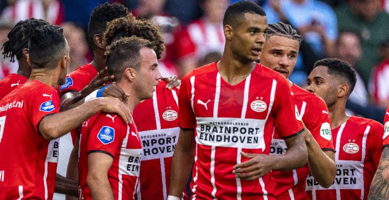 PSV wervelt tegen FC Midtjylland: 'Als ik PSV was, zou ik ons vaker uitnodigen'
