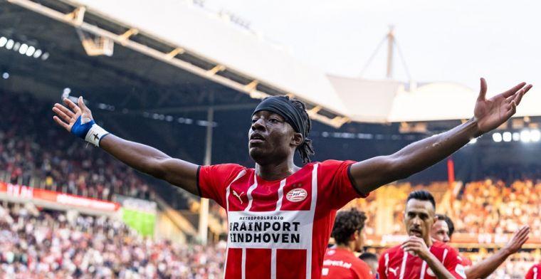 Spelersrapport: PSV swingt er op los, Madueke de grote smaakmaker