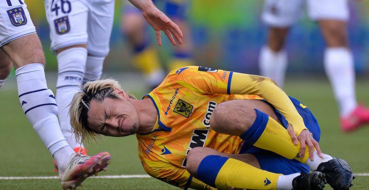 """Voorzitter STVV spreekt over Anderlecht en Suzuki: """"Hij zal niet meer spelen"""""""