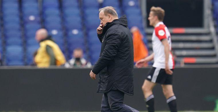 Advocaat ziet Feyenoord 'veel inleveren': 'Is lastig, zo raar vind ik dat niet'