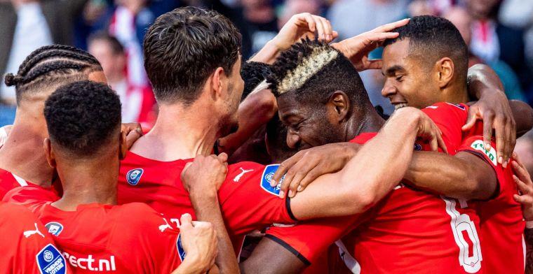 PSV overklast Midtjylland en kan alvast naar hotels in Portugal en Rusland kijken