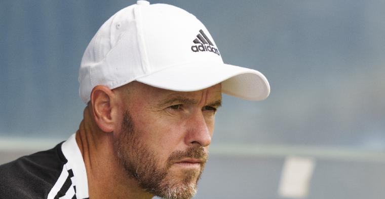 Ten Hag: 'Berghuis is net begonnen bij Ajax, maar dat mag ook even duren'